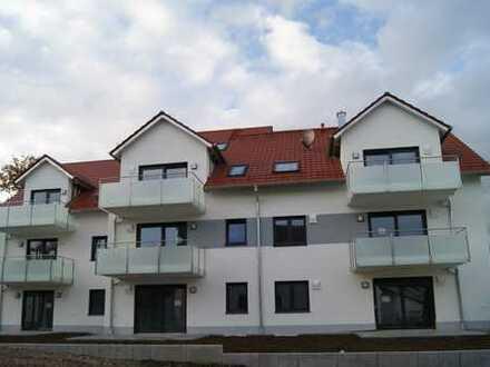 Erstbezug mit Balkon: freundliche 3-Zimmer-Wohnung in Walleshausen