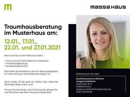 Traumhausberatung im Musterhaus in Simmern telefonisch vereinbaren!