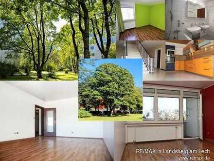 Wohnen im Park: Clever geschnittene 3,5-Zi. 83m² in Germering, Loggia/Balkon und Stellplatz inkl.