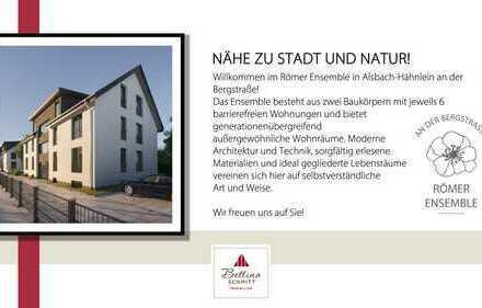 """Geräumige 3-Zimmerwohnung im Neubauprojekt """"Römer Ensemble - an der Bergstraße"""""""
