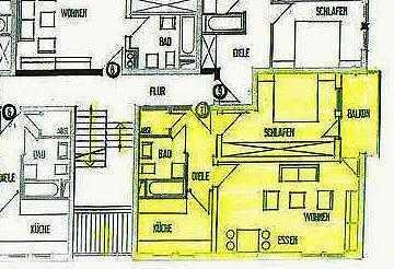 Helle freundliche 2 ZKB - Wohnung in uninaher Wohnlage von Homburg