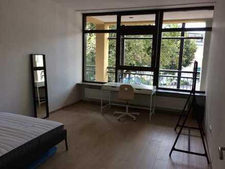 Vermiete WG Zimmer möbliert, Garching Fußgängerzone, U6, Wlan, Internet, TV, Strom, Wasser, Heizung,