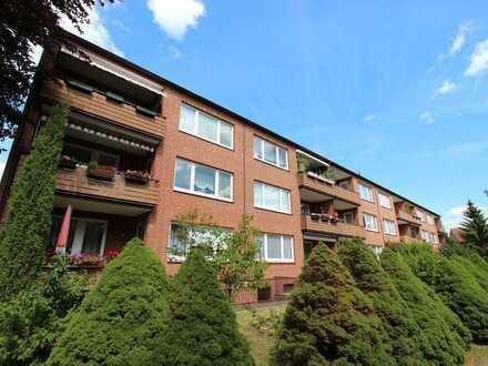 Helle 3-Zimmer-Wohnung mit Südbalkon in Dannenberg/Elbe