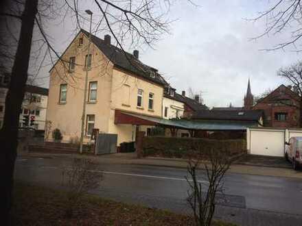 Büro od. Ladenlokal und Wohnhaus unter einem Dach (ca. 50 qm + 115 qm), Erkrath-Hochdahl, privat
