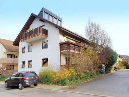 Helle Hochparterrewohnung in begehrter Feldrandlage in Schriesheim