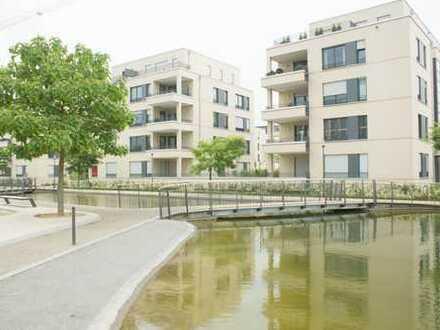 Wohnen im Carré Victoria Mathias-helle 2-Zimmer Staffelgeschosswohnung mit großzügiger Dachterrasse
