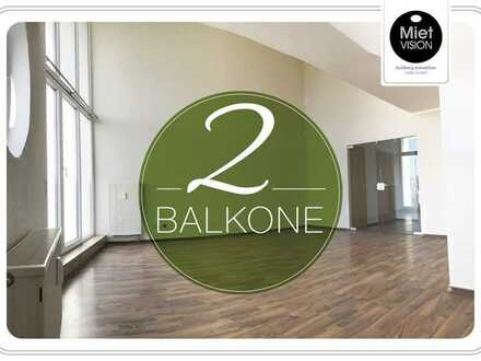 ⚜️WUNDERSCHÖNE 2-Raumwohnung mit 2 Balkonen im ruhigen Teutschenthal⚜️