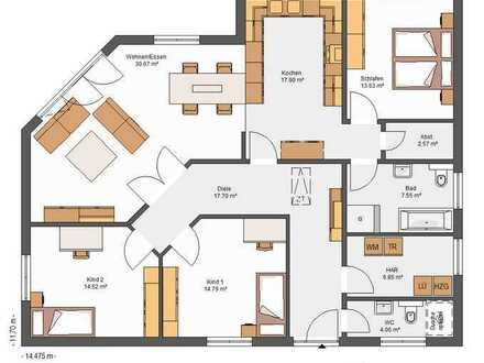 Bauen mit Elbe-Haus® großzügiger Bungalow auf einem der letzten Grundstücke in Mechernich