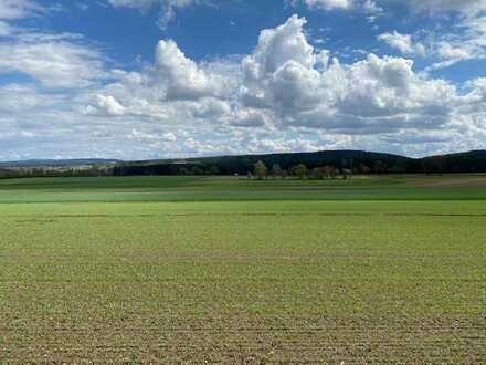 Landwirtschaftliche Flächen im Fichtelgebirge