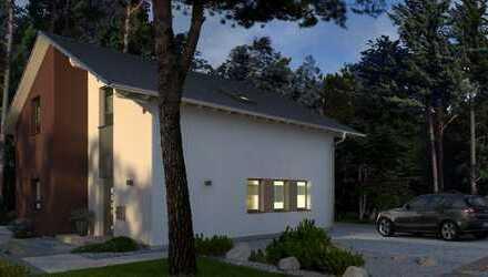 Elegantes Designhaus mit versetztem Grundriss in einer TOP LAGE!
