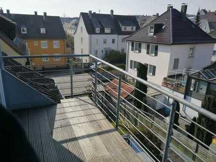 Gepflegte 3,5-Raum-Wohnung mit Balkon und Einbauküche in Ulm
