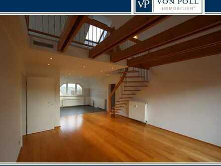 Offene Dachgeschosswohnung mit Galerie und Balkon