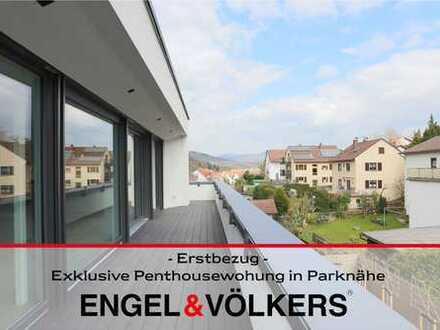 -Erstbezug- Exklusive Penthousewohnung in Parknähe