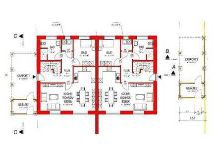 Erstbezug: freundliche 6-Zimmer-Doppelhaushälfte in Visbek, Visbek