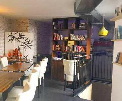 Geräumiges Restaurant mit Hof-Terrasse in guter Innenstadt-Ringlage