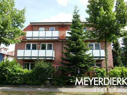Kreyenbrück - An der großen Wisch: moderne 2-Zimmer-Wohnung mit Balkon im Dachgeschoss