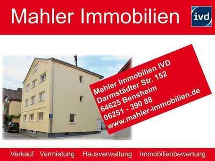 Modernisiertes Mehrfamilienhaus mit fünf Wohnungen in Einhausen