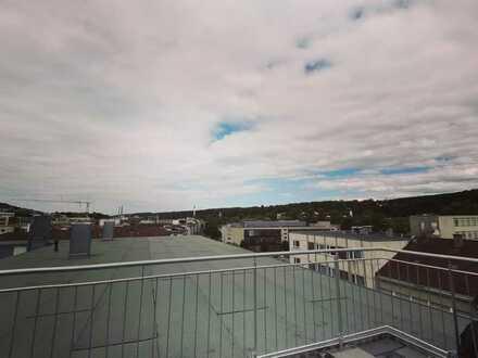 Traumwohnung über den Dächern der Stadt