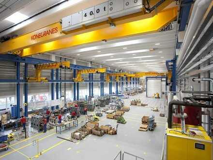 """""""BAUMÜLLER & CO."""" - ca. 6.000 m² Produktionsfläche - Kranbahn + ebenerdige Andienung"""