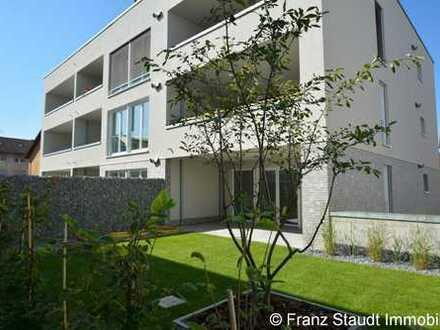 NEUBAU: Exklusive 3-Zimmer-Wohnung in Goldbach mit Gartenanteil