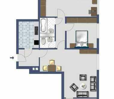 Viel Platz: 3-Zimmer-Wohnung mit Aufzug und Hausmeisterservice!