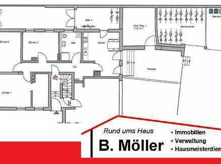 Neue renovierte 3,5 ZKB-Terrassen Erdgeschosswohnung in der nähe des Nordparkes!