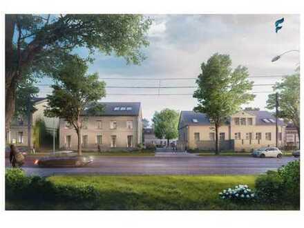 Historischer Vierseitenhof: schöne 2 Zimmer EG-Wohnung mit sonnigem Westbalkon