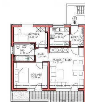 Neubau Penthouse-Wohnung in Neunkirchen