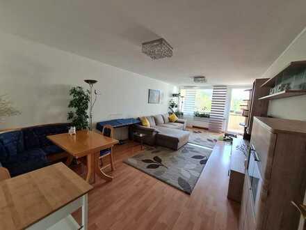 4 ZKB mit Balkon und Garage in sehr gepflegtem Hochhaus in Dudweiler-Süd