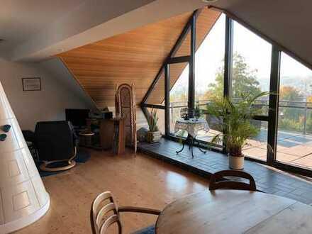 Traum-Wohnung mit Dachterrasse und Blick auf den Baldeneysee