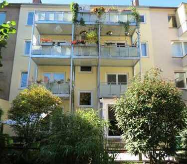 Sehr schöne u. hochwertige Maisonettewhg. mit Terrasse, Balkon, Garten u. Stellplatz in der City!