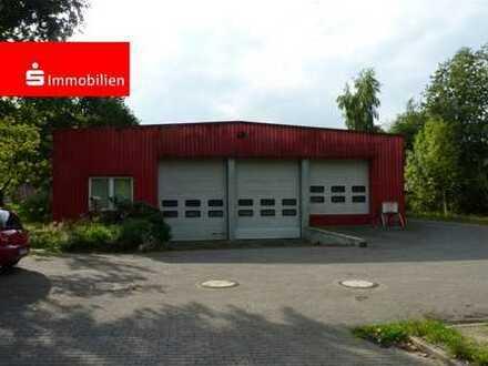 Produktionshalle mit Sozial- und Büroflächen