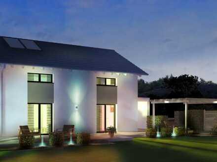 Traumhaus mit Traumblick und Baugrund in Bad Grönenbach
