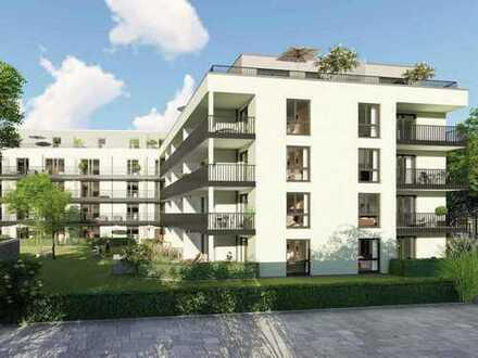 Hochwertig ausgestattete 3-Zimmer-Wohnung mit zwei Badezimmern und schönem Balkon