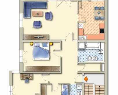 Stilvolle, neuwertige 4,5-Zimmer-Wohnung mit Balkon in Freiburg im Breisgau