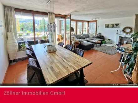 Helle 3,5 Zimmer Wohnung mit Gartenanteil in Lauchheim