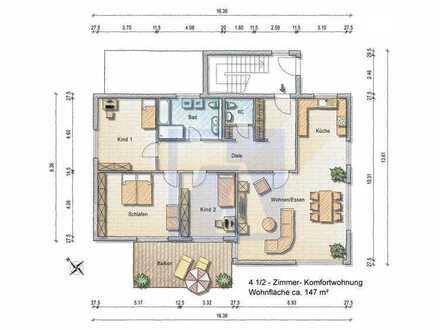 4 1/2 Zimmer-Komfortwohnung - Erstbezug