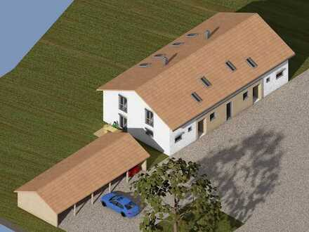 projektierter Neubau - KfW 55 - 1 Doppelhaushälfte noch frei