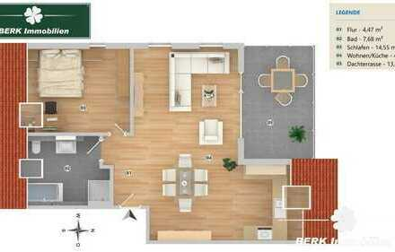 RESERVIERT - Neubau 2-Zi. ETW mit Dachterrasse in Babenhausen-OT - Kauf direkt vom Bauträger