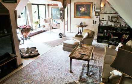 Maisonette-Wohnung in begeehrter Lage, mit herrlichem Ausblick und eigener Zufahrt