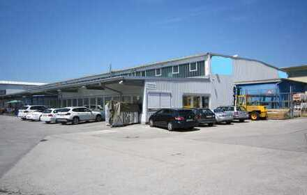 Immobilienbörse - Freitragende Industriehalle mit Bürokomplex in Bad Tölz
