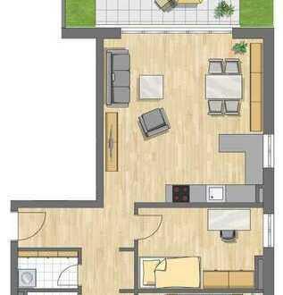 3 Zimmer Gartenwohnung mit 83 m²