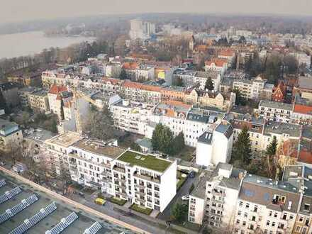 Leben am Tegeler See: Durchdacht geplante 3-Zimmer-Neubauwohnung mit 2 Balkonen