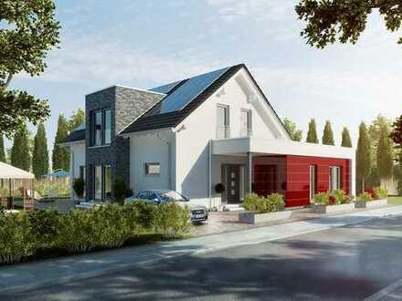 Egal ob wohnen, vermieten oder arbeiten-alles unter einem Dach-Okal Haus