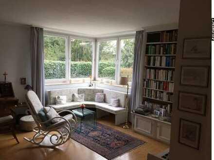 Eine exklusive 4-Zimmer-Wohnung mit Garten - nah am Grün, nah zur Stadt ...