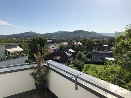 2-Zimmer-Penthouse-Wohnung mit Balkon in Seniorenresidenz Metzingen