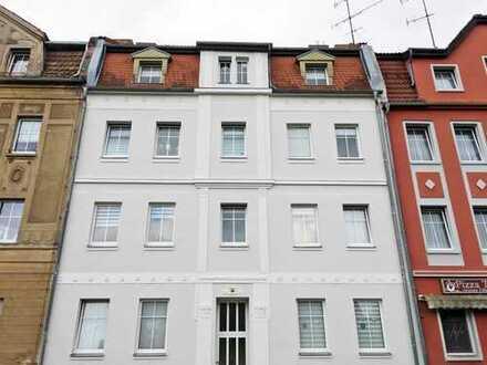 Eine Etage für sich: 4-Zimmer-Wohnung mit Blick über die Dächer von Guben