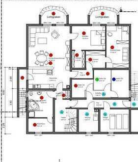 Geräumige, gepflegte 3-Zimmer-Wohnung in Epfenbach