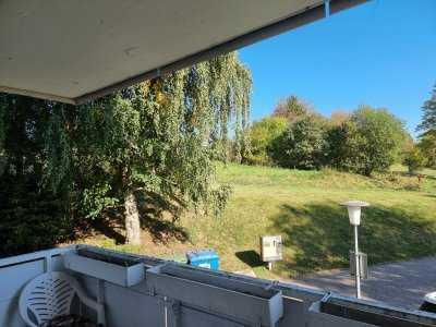 Alleinauftrag: 3 Zim.-Wohnung mit Balkon und Garage mit ca. 80 qm Wohnfläche in Bad König