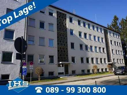 Zentrumsnah Baldham - ideal geschnittene 3-Zimmer-Wohnung
